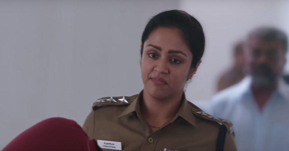Teaser for Bala's 'Naachiyaar' features Jyotika as a tough police officer