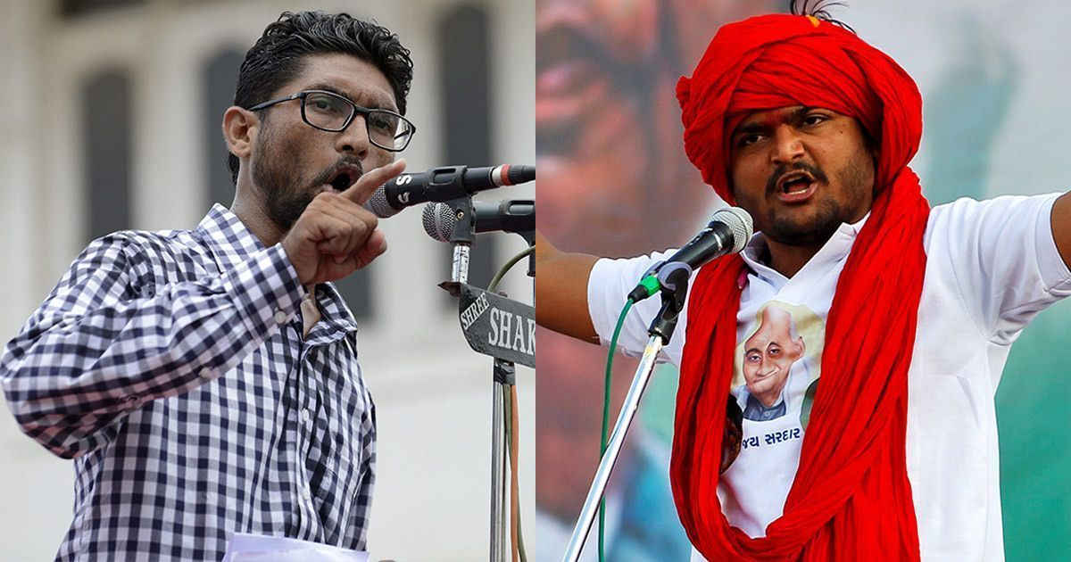 Uniting against 'common enemy' BJP, Hardik Patel and Jignesh Mevani to address joint rally on Dec 6