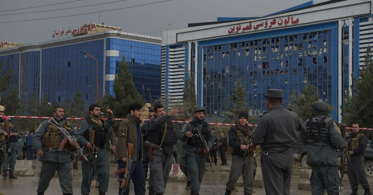Afghanistan: At least 14 dead in suicide attack close to political gathering in Kabul