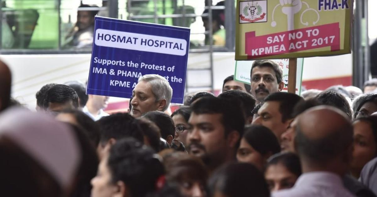 Private doctors' strike hits out-patient care in Karnataka