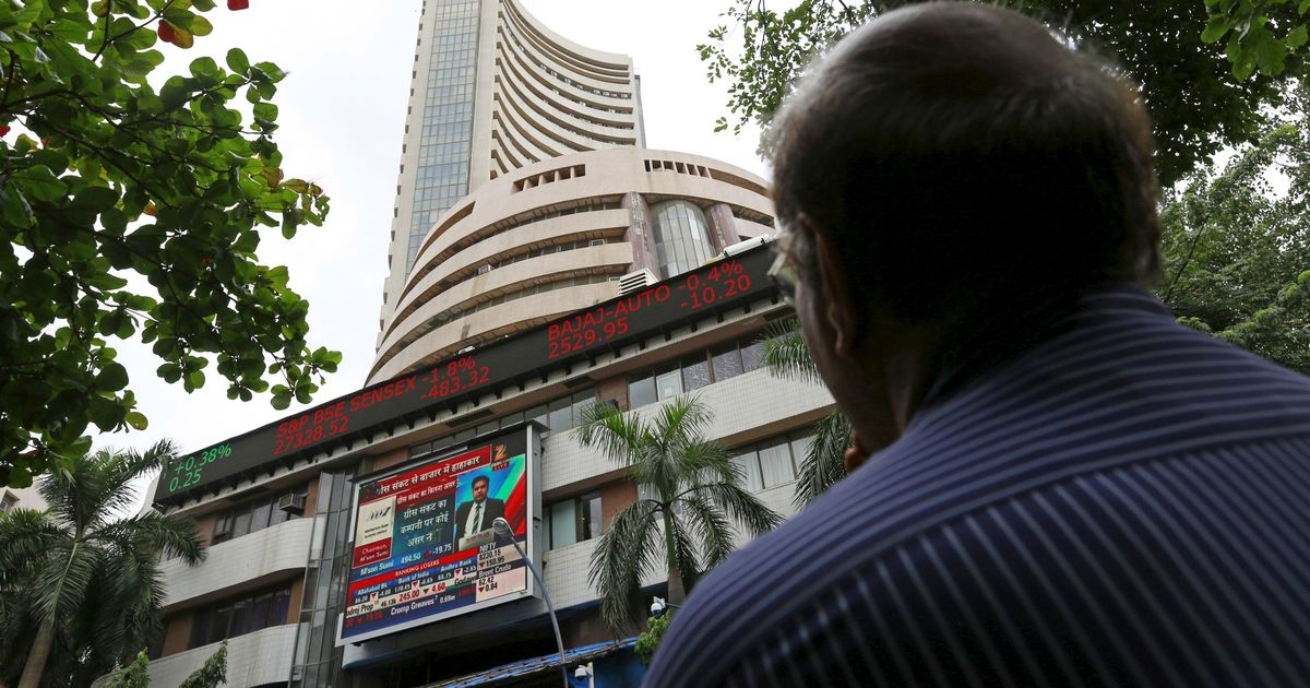 Sensex declines over 300 points, Nifty by nearly 100 after Trump stokes fears of global trade war