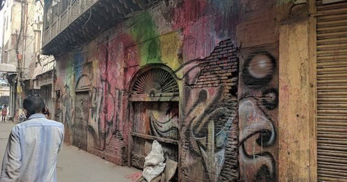 Puma apologises for graffiti on Old Delhi heritage building, says it was 'unintentional'