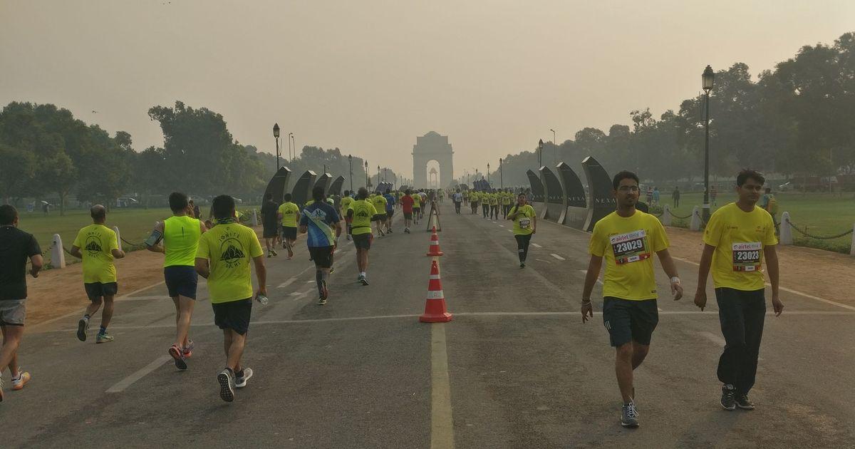 Delhi Half Marathon advanced to October 21 to avoid winter smog and pollution