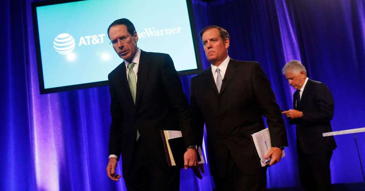 DOJ sues to block AT&T-Time Warner merger