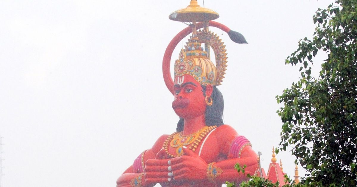 HC suggests to airlift Karol Bagh's Hanuman statue