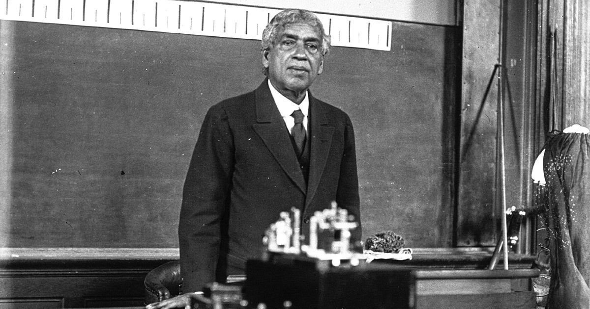 Image result for Jagadish Chandra Bose. Bose first demonstrated the use of radio in Calcutta, in 1895, two years before a similar demonstration by Marconi in England.