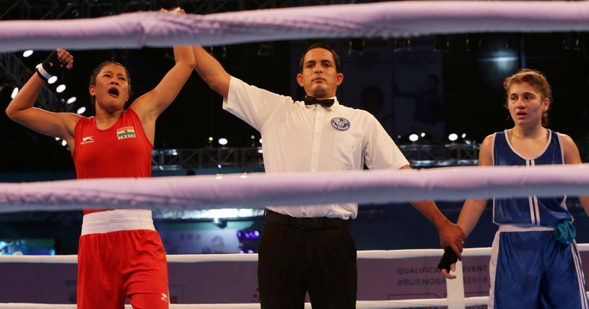 Four Indians in quarters of youth women's world boxing