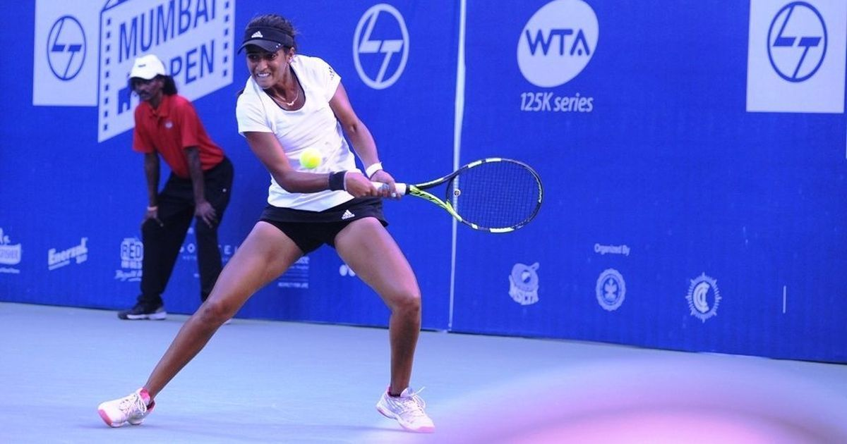 WTA Mumbai Open: Let down by her serve, Rutuja goes down fighting against Israel's Khazaniuk
