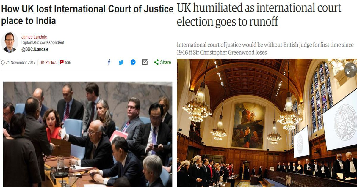 India's Bhandari re-elected to ICJ after United Kingdom withdraws