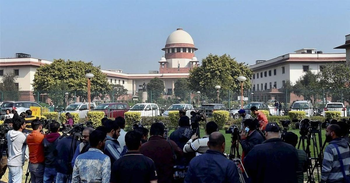 Ram Janmabhoomi case hearing likely to be referred to a larger bench