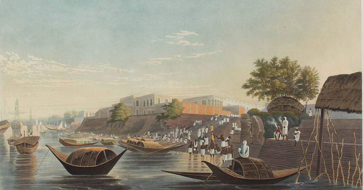 An exhibition allows Indians to experience the amazement of 18th and 19th century colonial settlers