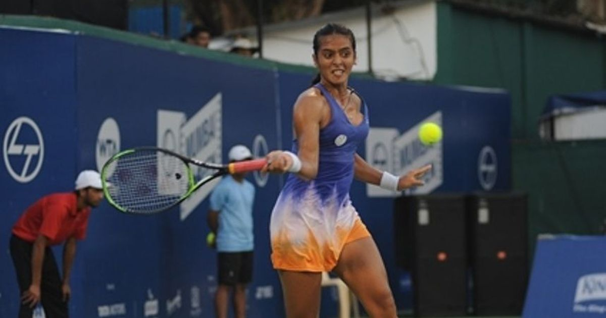 Dominant Ankita Raina storms into quarter-finals of WTA Mumbai Open