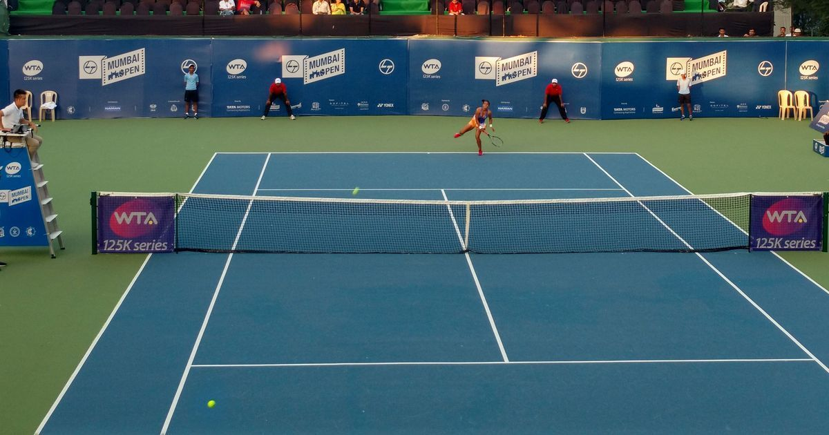 Reaching her first WTA quarters, Ankita Raina showed her improved game sense and agility