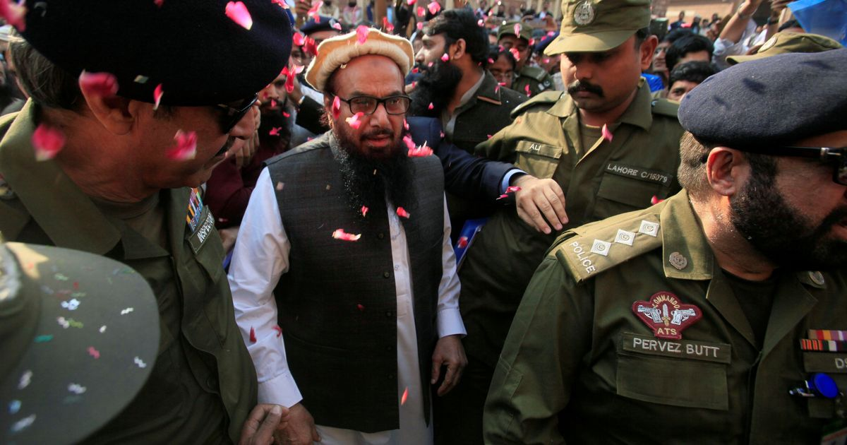 Hafiz Saeed released from house arrest, set to address followers at Jamaat-ud-Dawa headquarters