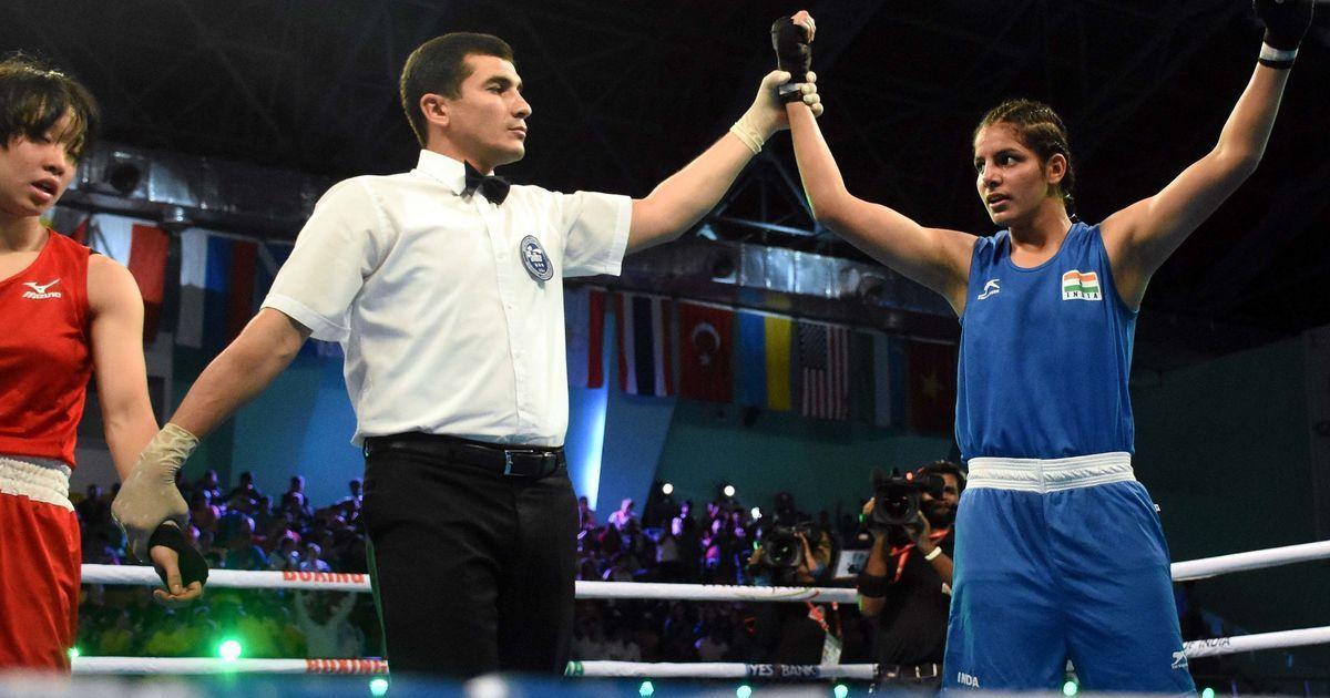 Image result for Sakshi, Nitu in finals of Youth Boxing Worlds