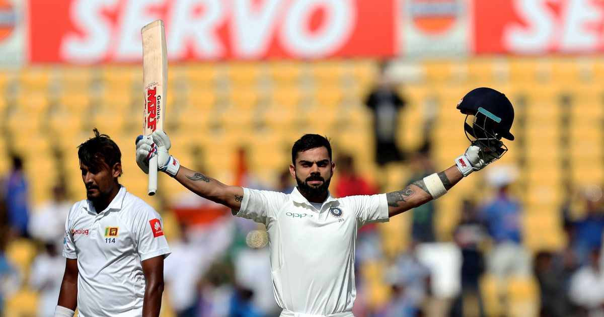 Nagpur Test: Kohli corners Lankans on Day 3