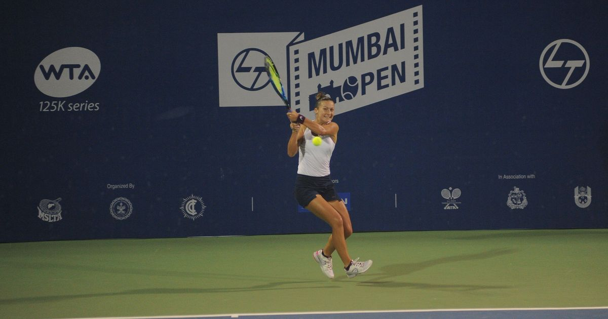 Dalila Jakupovic enters Mumbai Open final
