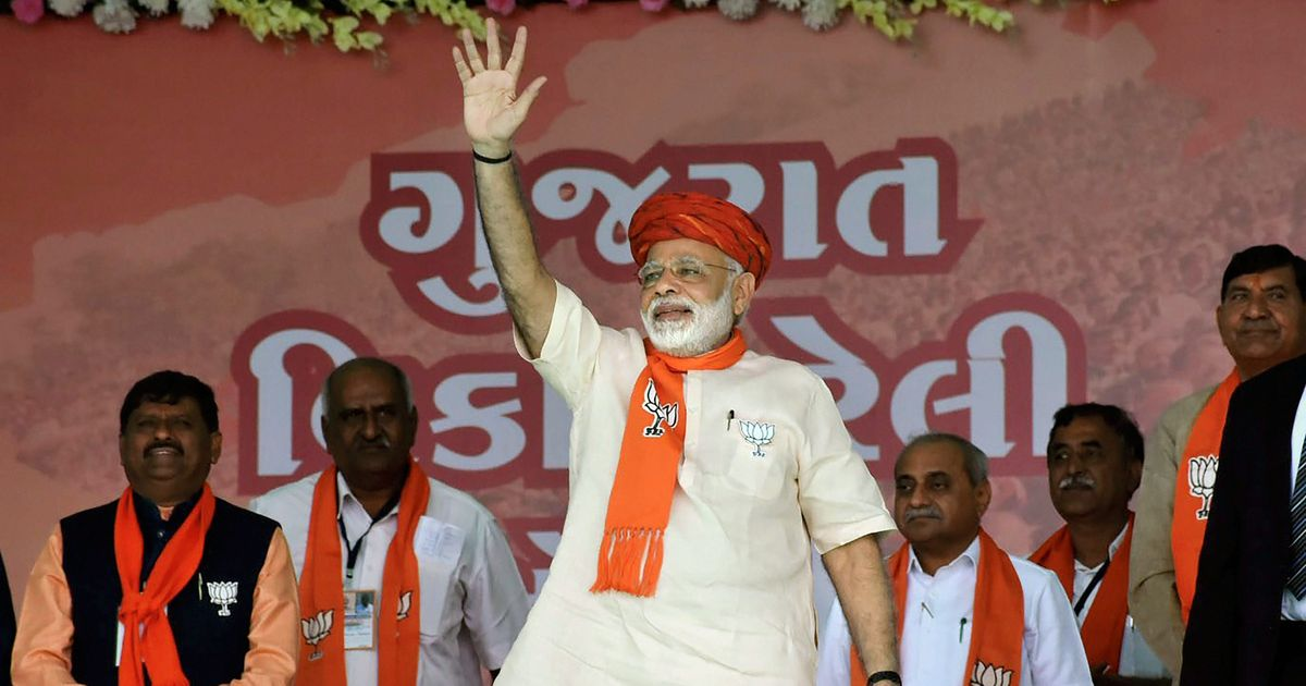 Gujarat polls: Congress is anti-Narmada, Narendra Modi says at Morbi rally