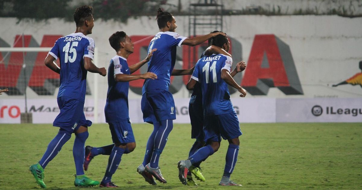 I-league: Indian Arrows prove too hot for Lajong