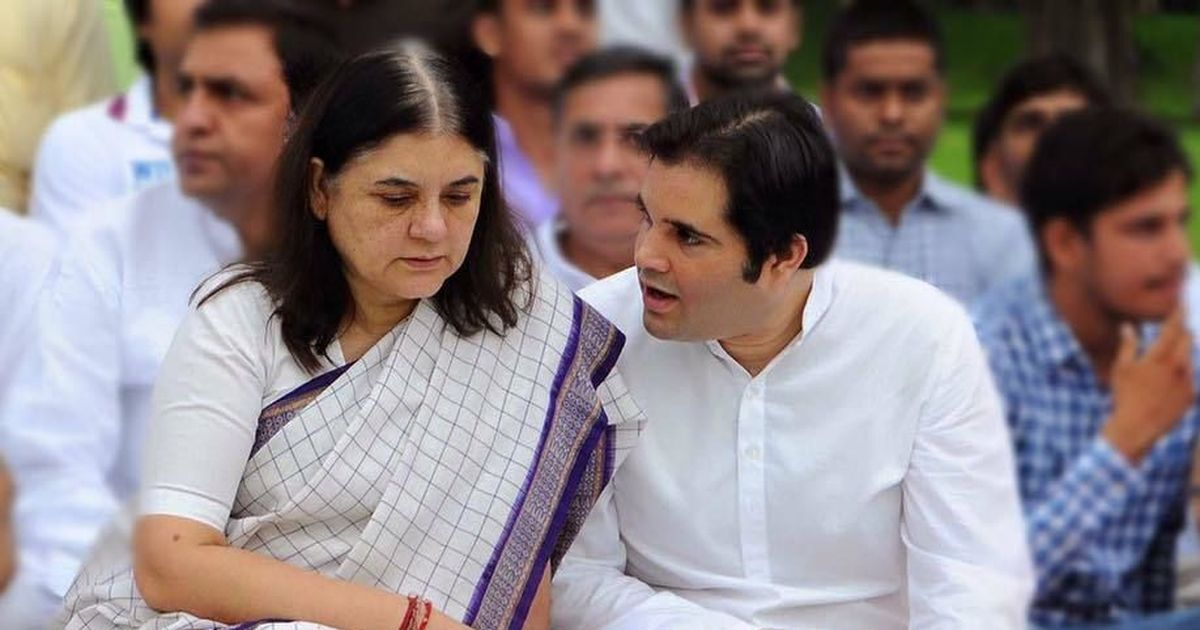 BJP's Maneka Gandhi ekes out a narrow victory in Sultanpur, her son Varun Gandhi wins Pilibhit