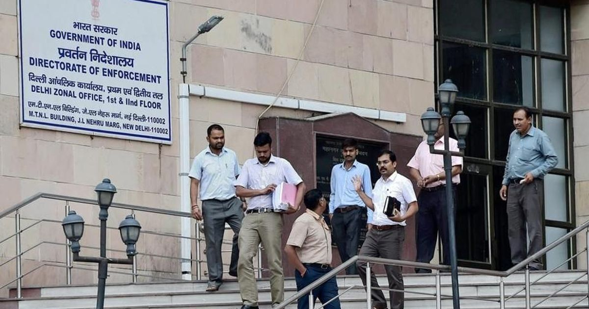 Enforcement Directorate raids seven places in NCR in Sterling Biotech money laundering case