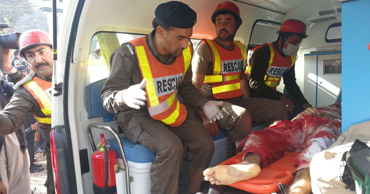 पाकिस्तान : पेशावर में आतंकी हमला, कम से कम 12 की मौत