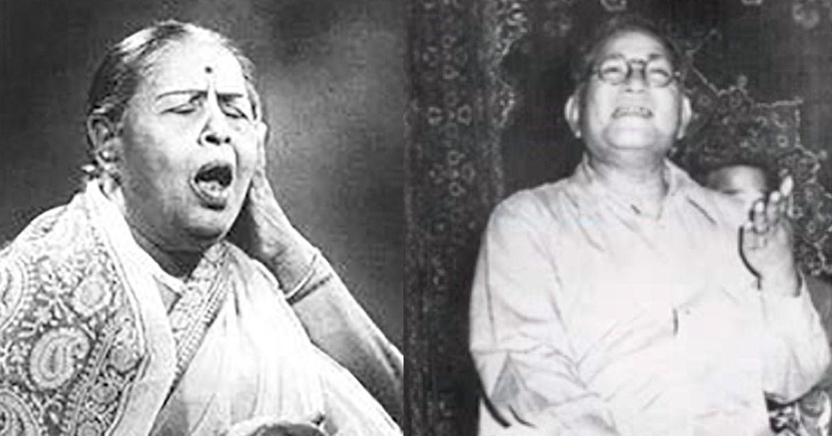 Listen: Thumri recitals by Siddheshwari Devi and Barkat Ali Khan in Deepchandi taal
