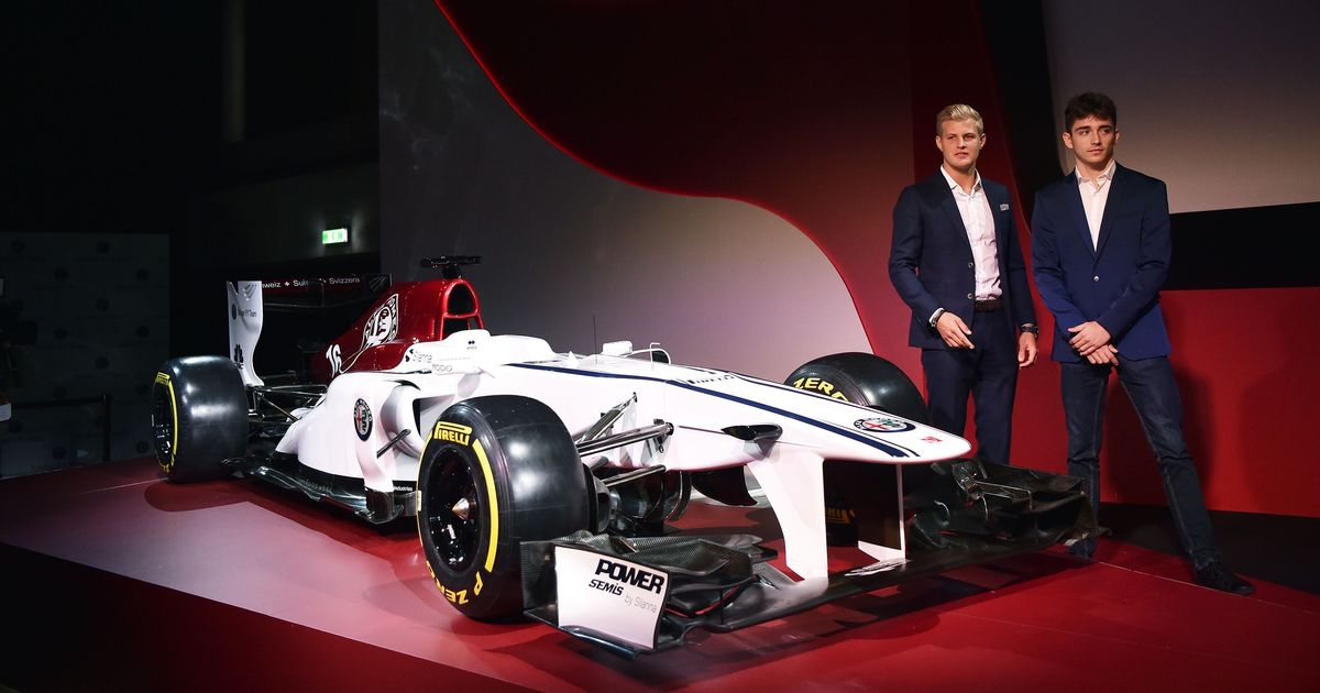 Sauber confirm Leclerc & Ericsson, as Alfa Romeo livery revealed
