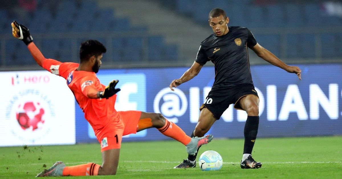 Indian Super League: Delhi Dynamos lose first home game of season 2-0 to NorthEast United