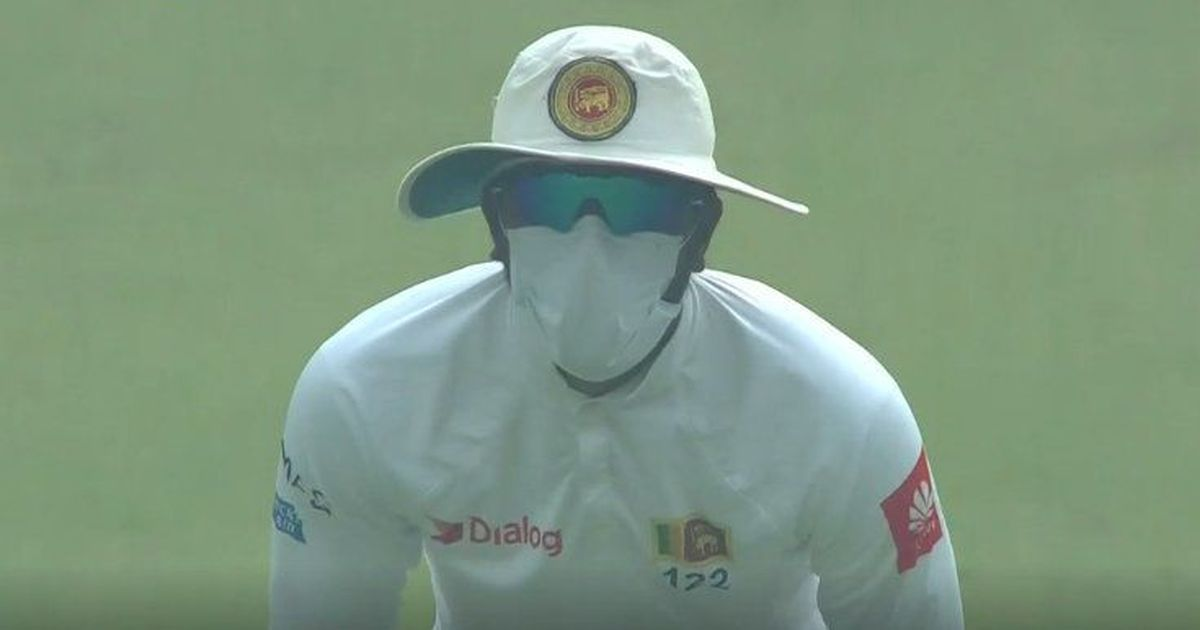 Sri Lankan players were vomiting due to the pollution in Delhi: Coach Nic Pothas