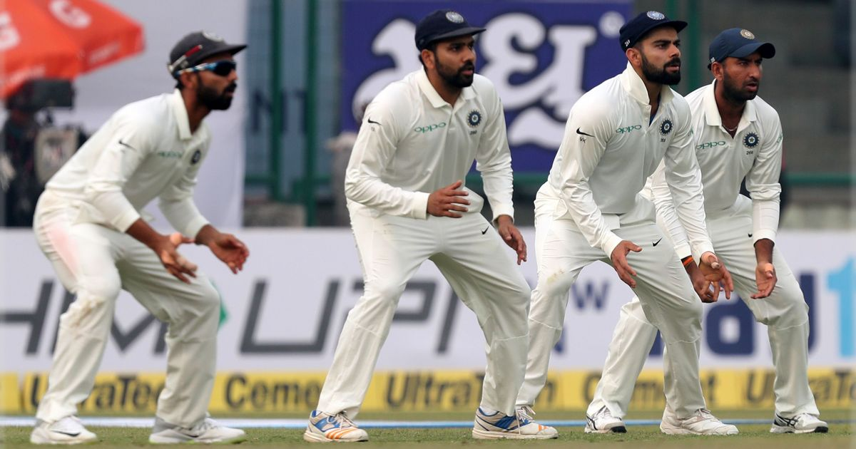 Costly drops: Catching at slips is an area that Kohli and Co need to desperately improve