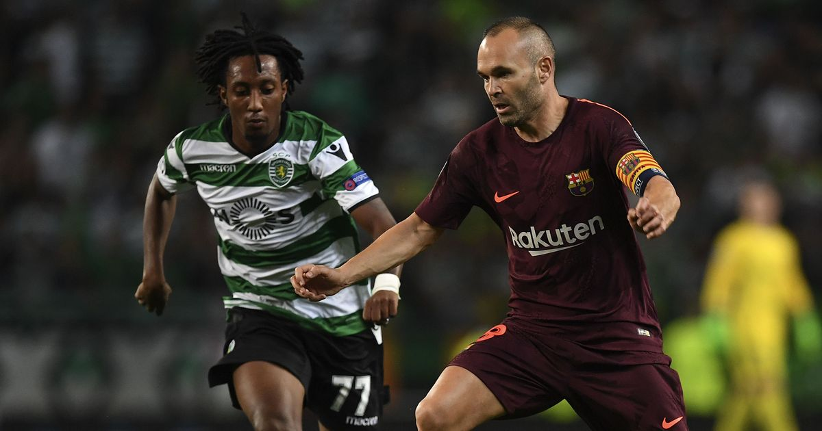 Barcelona captain Andres Iniesta sidelined by calf strain