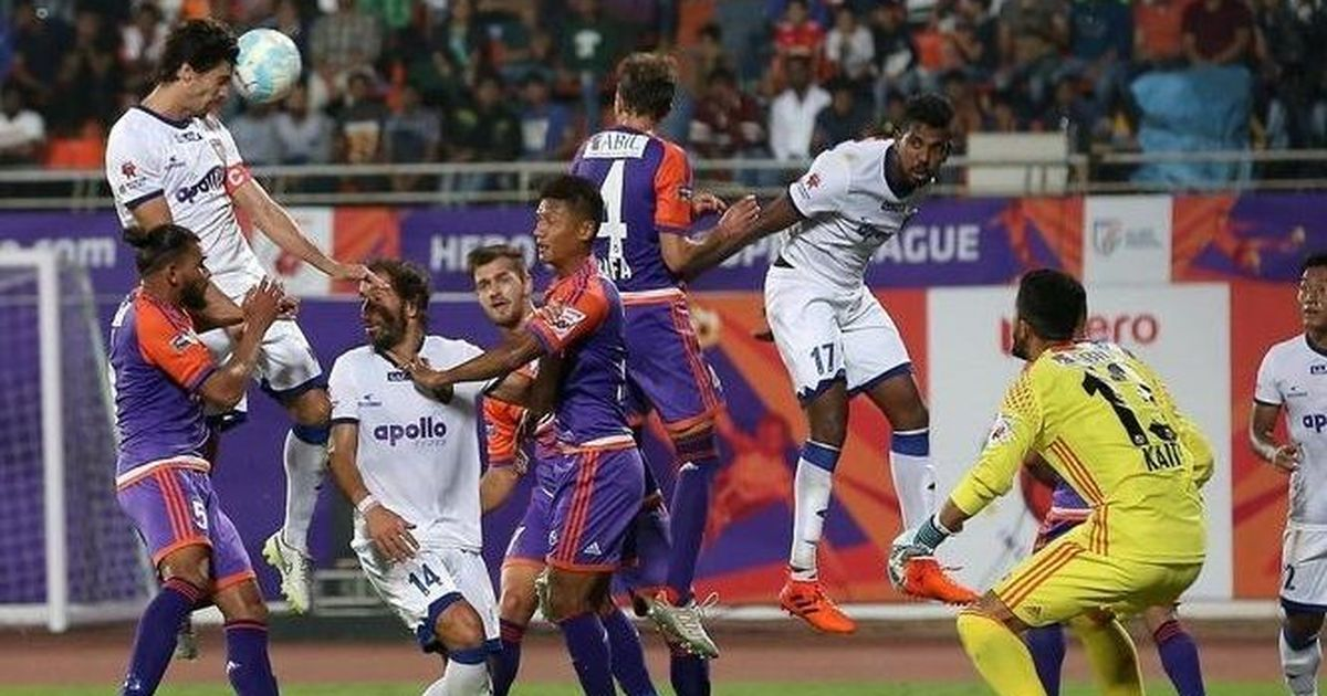 Henrique Sereno helps Chennaiyin FC maintain unbeaten run against FC Pune City