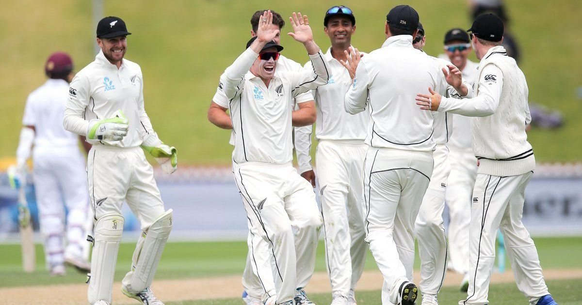 New Zealand win first Test by an innings after Windies' dramatic batting collapse