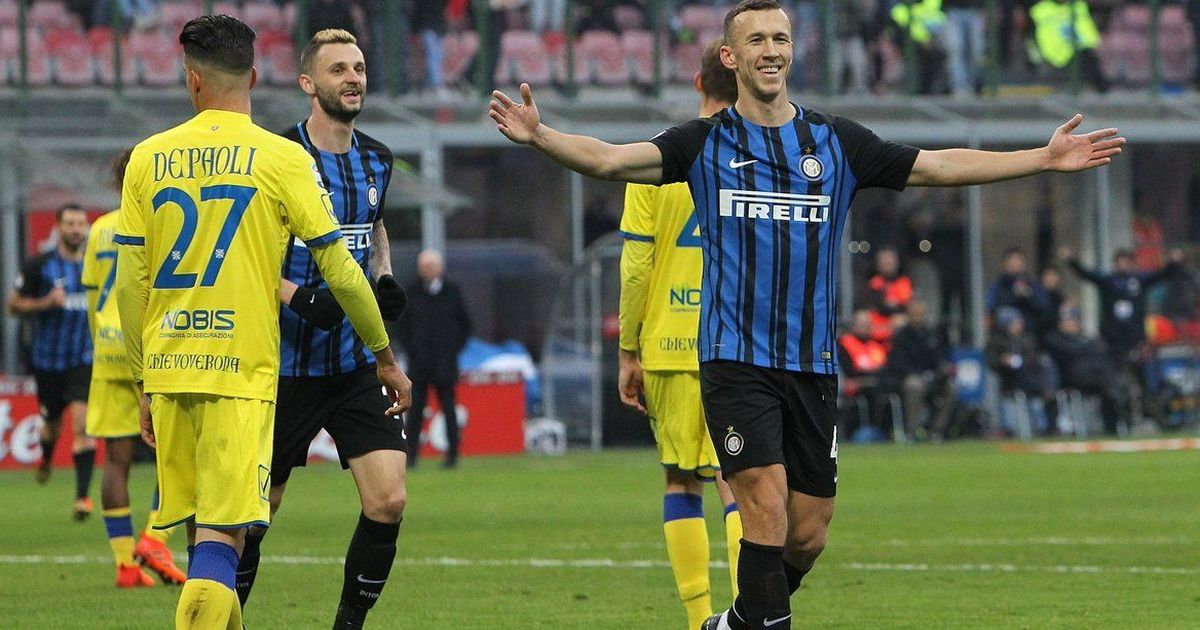 Ivan Perisic slams hat-trick to send Inter Milan on top of Italian Serie A
