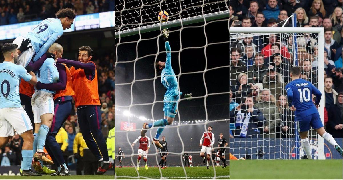 'World's best' de Gea, gritty City, dazzling Hazard: What we learnt from Premier League