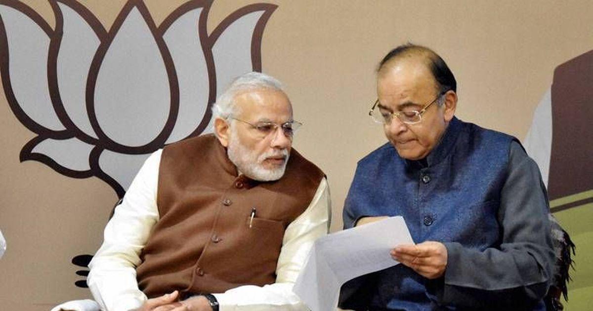 कांग्रेस ने मणिशंकर अय्यर को एक रणनीति के तहत निलंबित किया है : अरुण जेटली