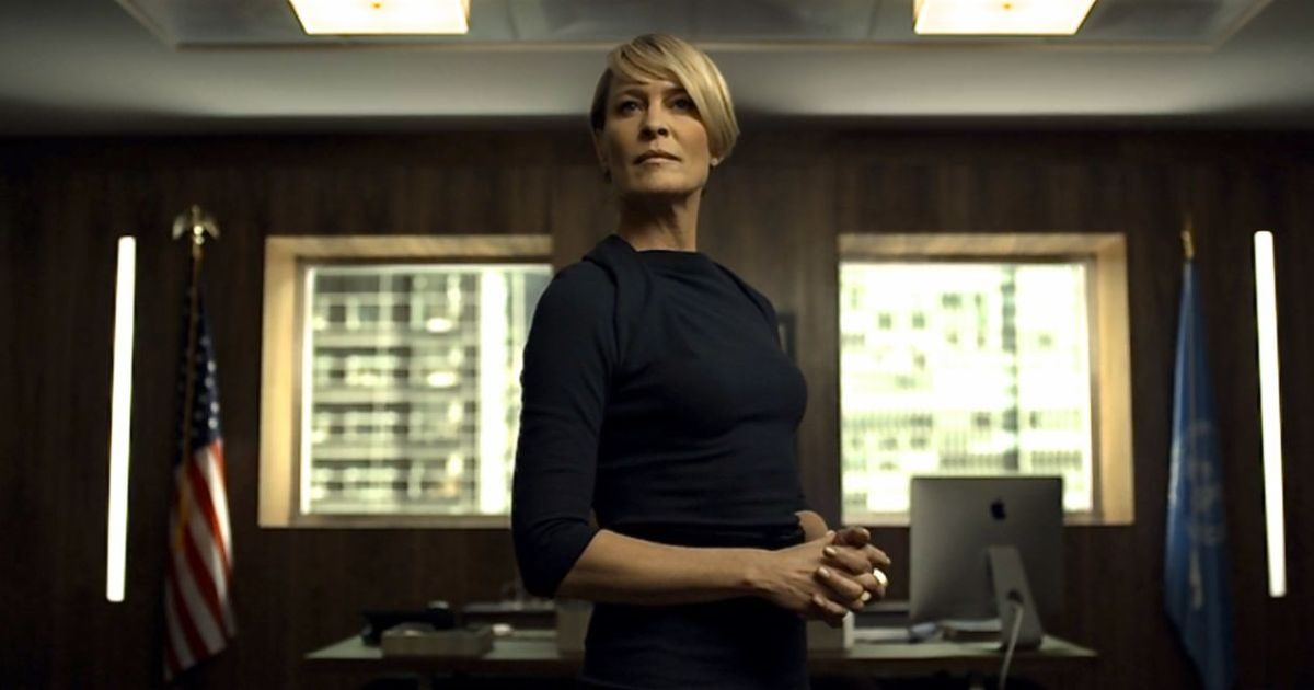 House Of Cards WILL return with Robin Wright as the lead