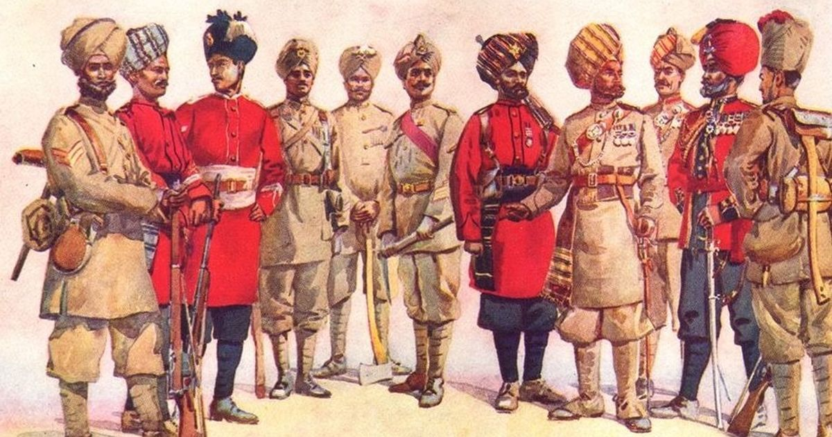 Photos: A Raj-era book reminds us of the pomp and glory of forgotten Indian soldiers