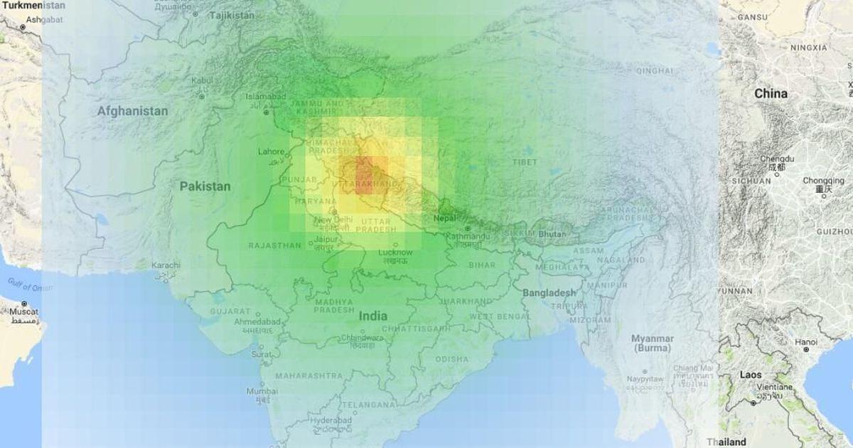 Magnitude 5.0 quake strikes Uttararkhand and adjoining regions