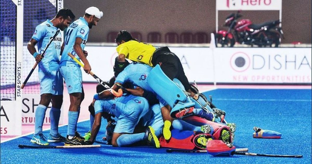 HWL Final: India win nail-biting shootout to knock Belgium out in quarters