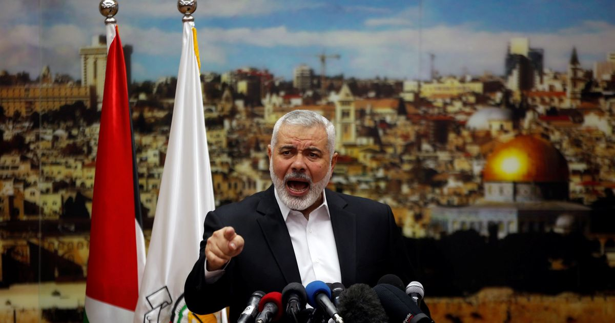 Hamas calls for new uprising after Donald Trump recognises Jerusalem as the Israeli Capital