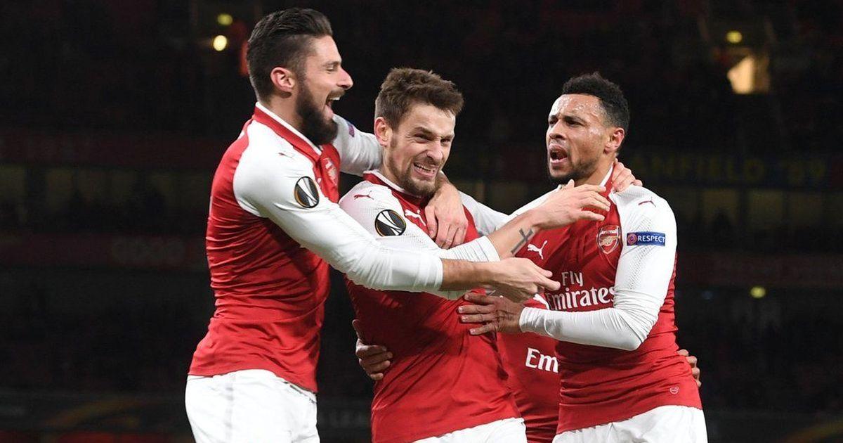 Europa League: Arsenal thump Borisov 6-0, Marseille progress, Everton bow out with win