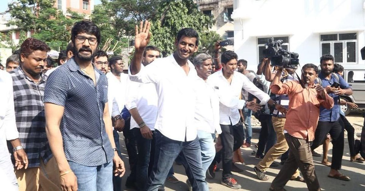 Actor Vishal claims two people who proposed his candidature for RK Nagar bye-election are missing