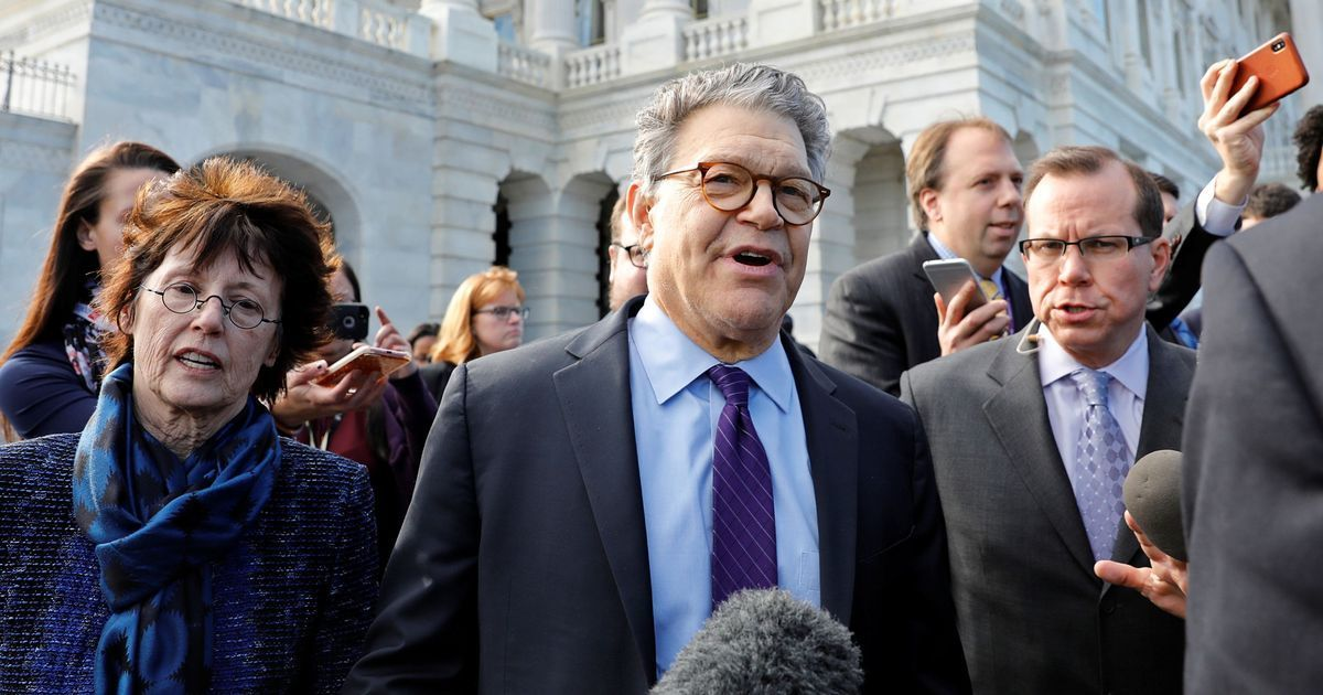 US Democratic Senator Al Franken steps down after allegations of sexual harassment