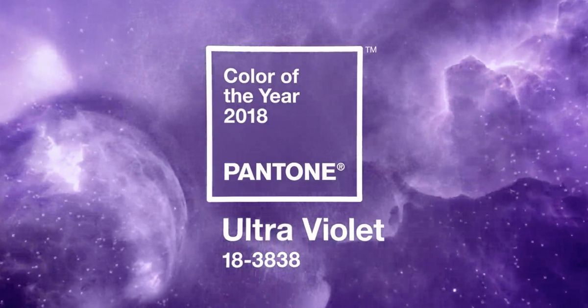 Pantone Color Institute chooses 'provocative and thoughtful' ultra violet as 2018 colour of the year