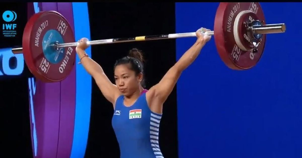Watch: Mirabai Chanu wins bronze at Asian Weightlifting C'ship, sets world record in clean and jerk
