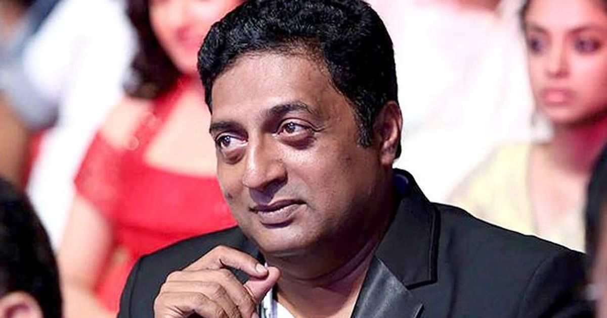 'I am anti-Modi, anti-Shah, anti-Hegde. They are not Hindus,' says actor Prakash Raj