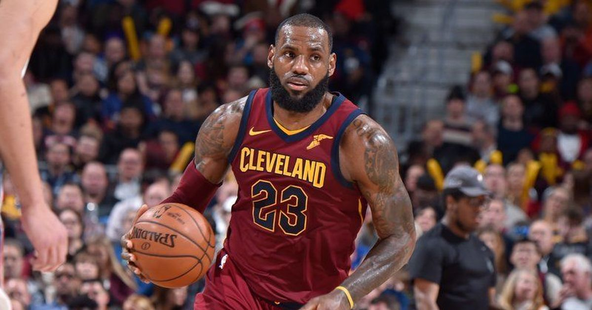 timeless design 9caab 2fba0 NBA Roundup: LeBron James powers Cleveland Cavaliers ...