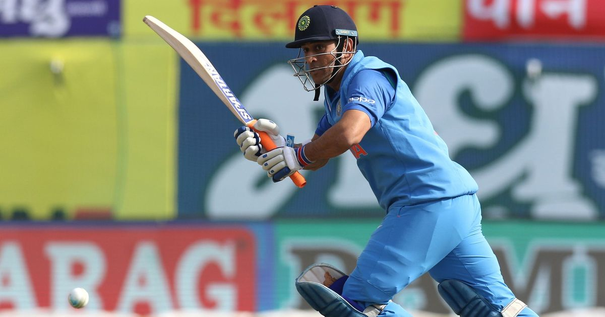 Image result for MS Dhoni One Run Away From Scoring 10,000 ODI Runs